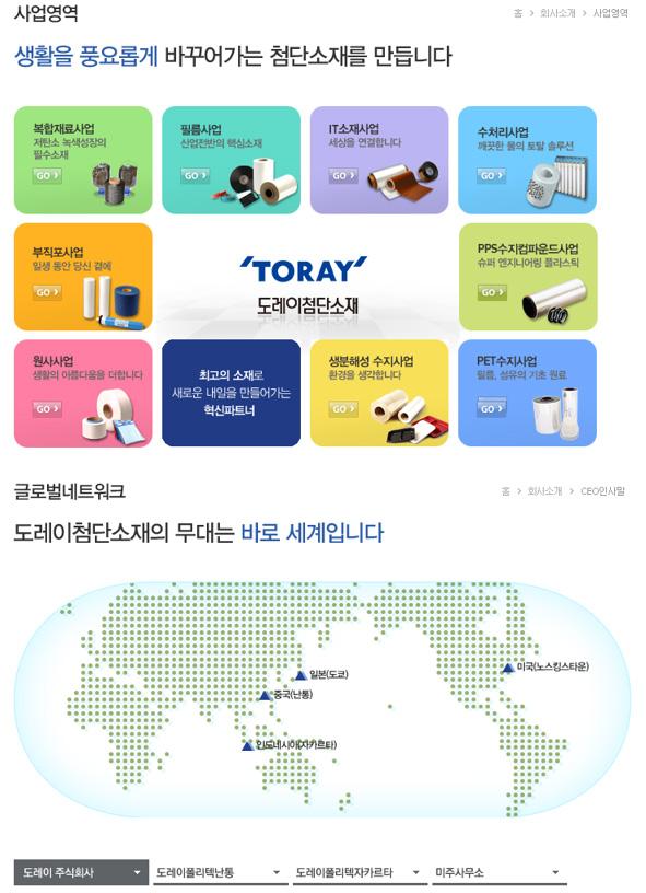사업영업 글로벌네트워크